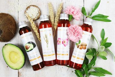 huile vegetale raffermissante pour le corps