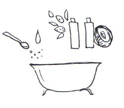 Soins pour bébé : bain hydratant