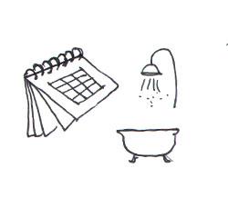 Soins peau de bébé : le bain