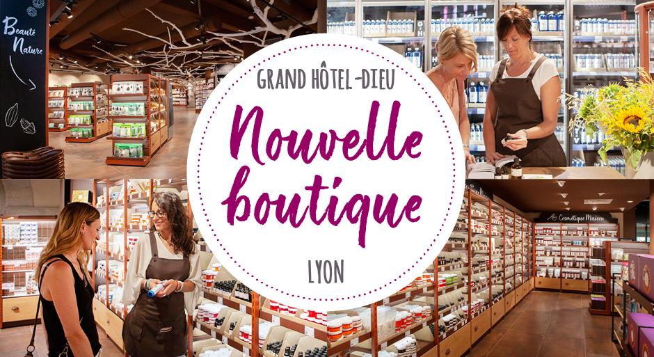Nouvelle boutique à Lyon!