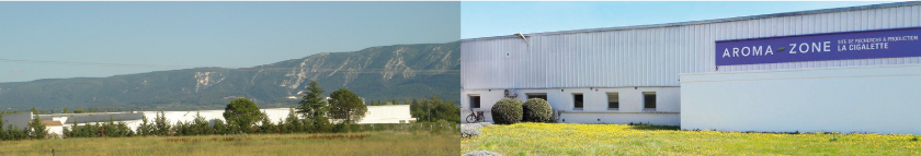 Etablissement Aroma-Zone Cabrières d'Avignon