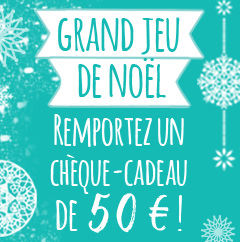 Gagnez un chèque cadeau de 50€ !