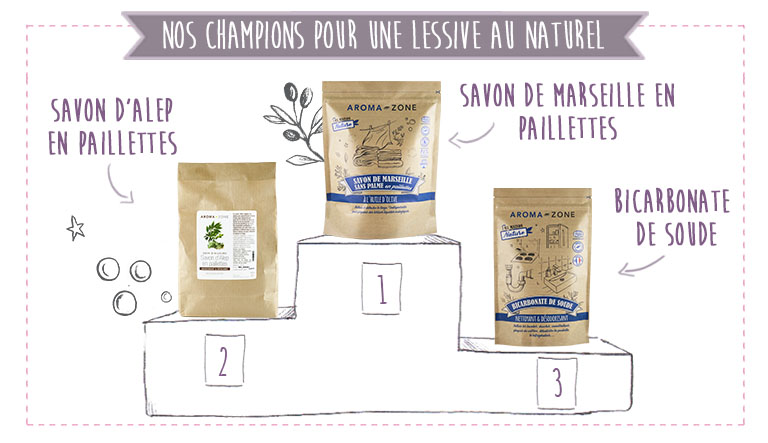 podium lessive maison naturel