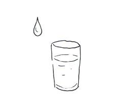Boire de l'eau diminue l'apparition des rides