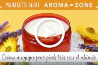 Vidéo : Crème magique pour pieds très secs et abîmés