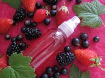 Brume parfumée pour les cheveux aux fruits rouges