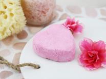 Bombe de bain aux pétales de Roses