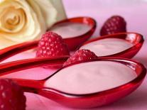 Mousse de fruit jeunesse Framboise & Rose
