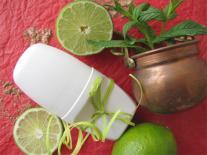 Déodorant crème Palmarosa, Menthe & Citron vert