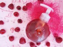 Bulle de douche fruitée & gourmande : Framboise & Myrtille