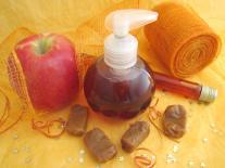Bulle de douche fruitée & gourmande : Pomme & Caramel