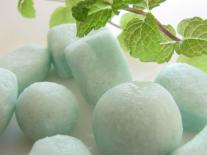 Bonbons de bain effervescents Menthe & Bois de siam