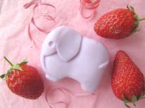 Mon coffre à jouets en savons : éléphant