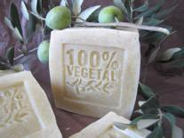 Pain de savon exfoliant Olive & Laurier