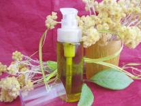 Huile de massage facial ayurvédique - Immortelle & Basilic sacré