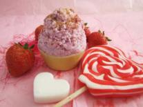 Cupcake soap à la Fraise