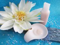 Gel hydro-alcoolique purifiant aux fleurs blanches