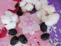 Fleur de savon Mûre & Coton