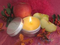 Bougie de massage à offrir Pomme d'Amour