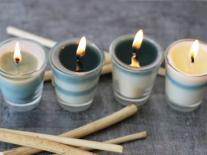 Bougies décoratives Verveine Yunnan
