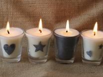 Bougies décoratives Petitgrain bigarade