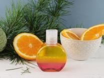 Huile de douche aromatique triphasée Bois d'agrumes