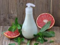 Crème nettoyante pour les mains litsée citronnée