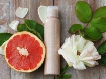 Crème exfoliante et désincrustante visage au pamplemousse rose