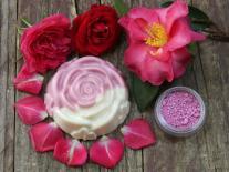 Savon Rose des jardins