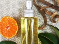 Huile de massage aux agrumes relaxants