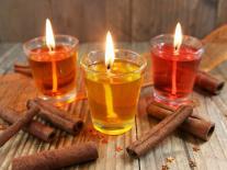 Bougies à l'huile Cannelle