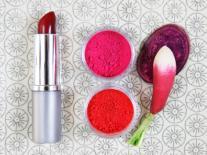 Rouge à lèvres Couleur végétale Touche de rouge