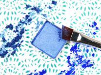 Ombre à paupières compacte Lapis Lazuli