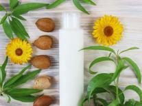 Lait de massage enveloppant peaux délicates