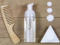 Mousse coiffante hydratante pour les cheveux