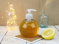 Savon d'Alep liquide au zeste de Citron