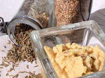 Purée de pois chiches (Houmous) à l'huile essentielle de Cumin
