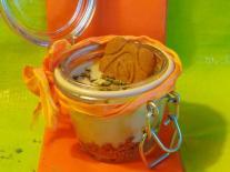 Dessert allégé au Thé Matcha, Vanille & Spéculoos façon Tiramisu