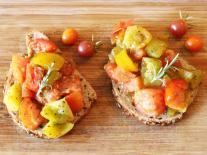 Tomates sautées Sarriette & Romarin
