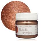 Nacre minérale Mica noisette scintillant