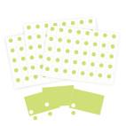 Kit Cartes et gommettes pour coffrets en carton ELEGANCE et NATURE